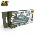 PEINTURE AK - SET MODULATION - GERMAN PANZER GREY - AK 160