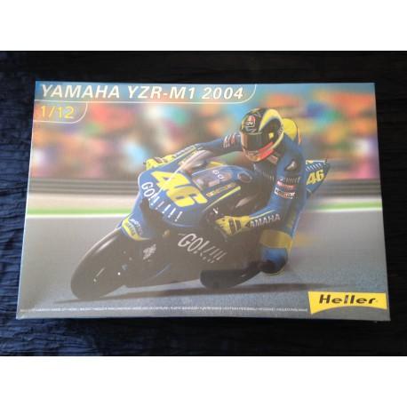 Maquette - HELLER - YAMAHA YZR M1 2004- REF 80913 - Echelle 1/12
