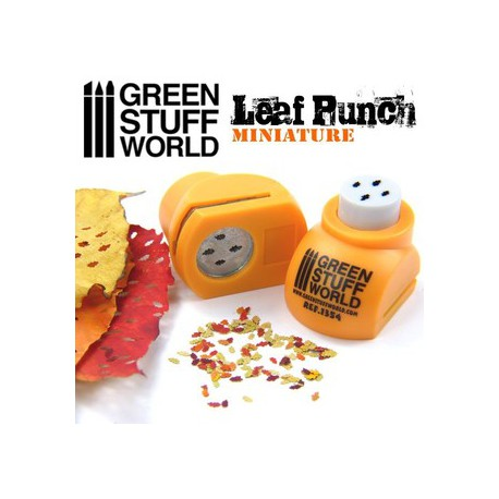 OUTILLAGE - GREEN STUFF WORLD - 1354 PERFORATRICE JAUNE