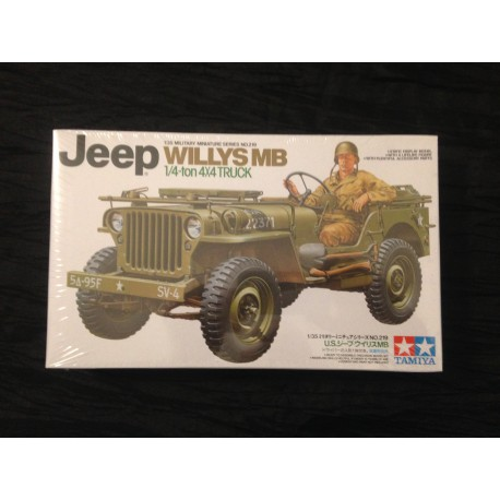 MAQUETTE TAMYIA - JEEP WILLYS MB - ECH 1/35 REF 219