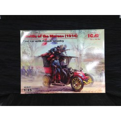 MAQUETTE ICM - BATTLE OF THE MARNE 1914 - ECH 1/35 REF 35660