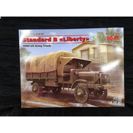 MAQUETTE ICM - STANDARD B LIBERTY US TRUCK WWI - ECH 1/35 REF 35650