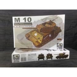 MAQUETTE AFV - BLINDE - TANK DESTROYER - M10 - ECH 1/35 - REF AF 35024