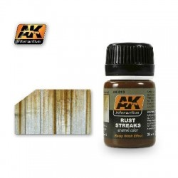 STREAKING EFFECTS - RUST STREAKS - AK 013