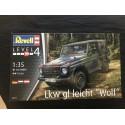 MAQUETTE REVEL - LKW GL LEICH -WOLF - 1/35 - MERCEDES OU BASE POUR P4