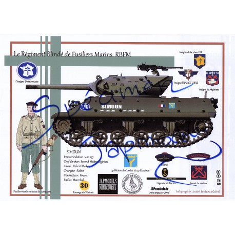 LITHOGRAPHIE - FORMAT A3 - JAPMODELS -RBFM - TD M10 SIMOUN