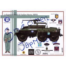 LITHOGRAPHIE - FORMAT A3 - JAPMODELS -RBFM - M20- L IMPETUEUSE