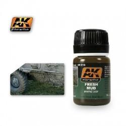 PEINTURE AK - Fresh Mud Effect Enamel Color - AK 016