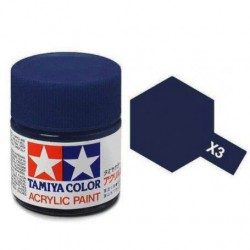 PEINTURE TAMIYA - X 3 MINI