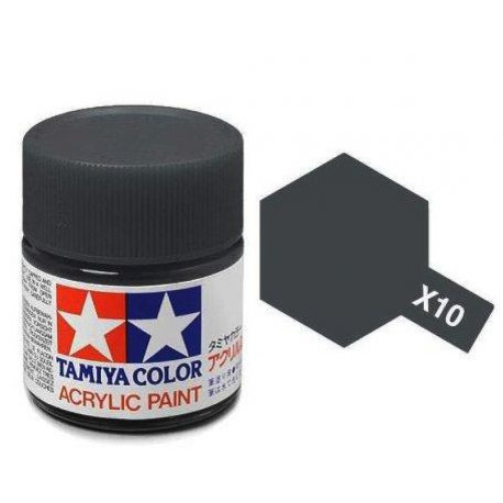 PEINTURE TAMIYA MINI - X10