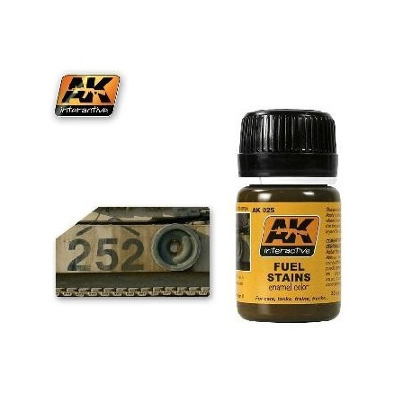 ENGIN EFFECTS - FUEL STAINS - AK 025