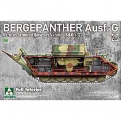 MAQUETTE TAKOM - Bergepanther Sd.Kfz.179 1/35