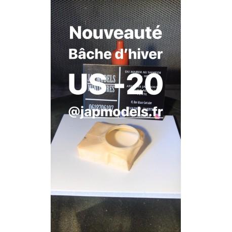 MAQUETTE JAPMODELS - BACHE US - M20 - ECH 1/35 - JAP ACC 57 M20