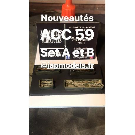 MAQUETTE JAPMODELS - CAISSE ALLEMAND - REF ACC 59 SET A