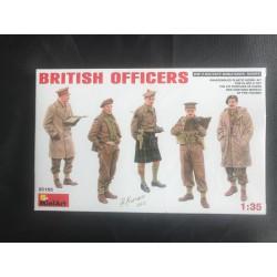 MAQUETTE MINIART - FIGURINES - BRITISH OFFICERS - ECH 1/35 - REF JAP MIA 35165