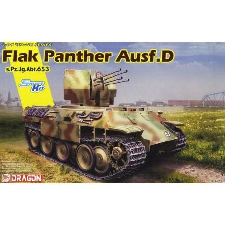 MAQUETTE DRAGON - Flak Panther Ausf.D s.Pz.Jg.Abt.653 - REF JAP DRA 6899 - ECH 1/35