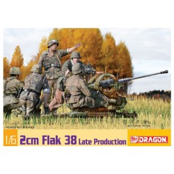MAQUETEE DRAGON -2cm Flak 38 Late Production- REF JAP DRA 75039- ECH 1/6