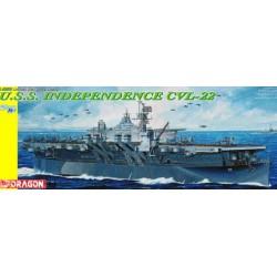 Maquette - DRAGON - USS Independence CVL-22 - Echelle 1/350