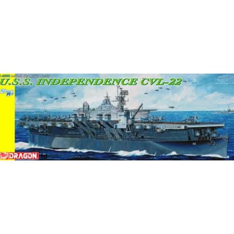 MAQUETTE DRAGON - BATEAU - 1/350 USS Independence CVL-22 - REF JAP DRA1024 - ECH 1/350