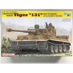 "MAQUETTE DRAGON - Tiger ""131"" Early Production s.Pz.Abt.504 (Tunisia) - REF JAP DRA 6820 - ECH 1/35"