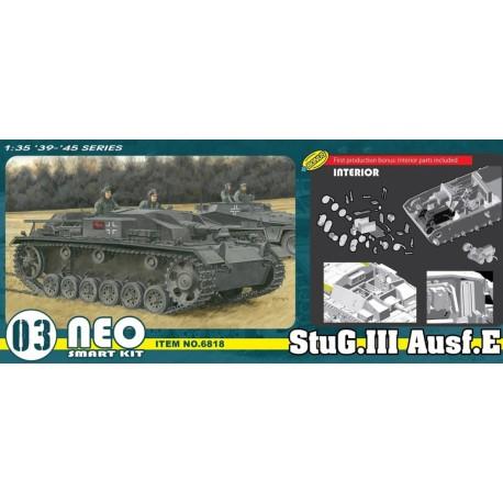 MAQUETTE DRAGON - StuG.III Ausf.E (Neo Smart Kit) - REF JAP DRA 6818 - ECH 1/35
