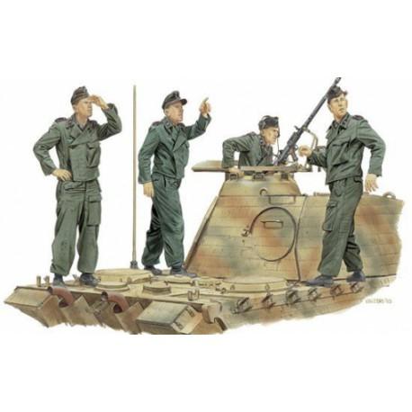 "FIGURINE DRAGON - ""Achtung Jabo"" Panzer Crew (France 1944) - REF DRA 6191 - ECH 1/35"