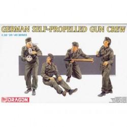 Figurine - DRAGON - German Self-Propelled Gun Crew - Echelle 1/35