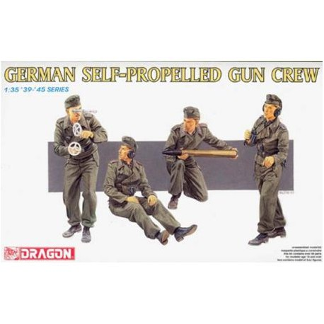FIGURINE DRAGON - German Self-Propelled Gun Crew 5.50€ 5.27€ (MSRP 11.00€) - REF DRA 6367 - ECH 1/35