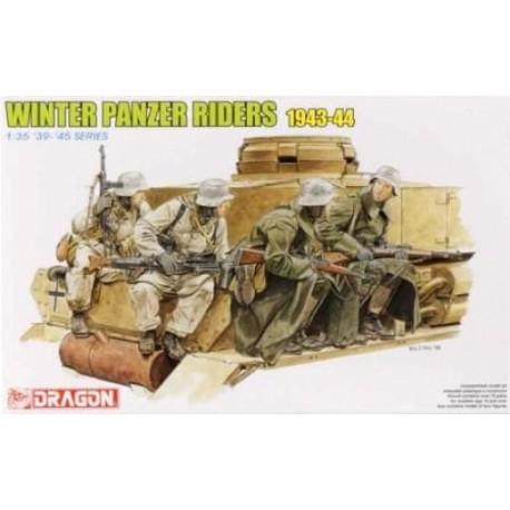 FIGURINE DRAGON - Winter Tank Riders 1943-44 - REF DRA 6513 - ECH 1/35