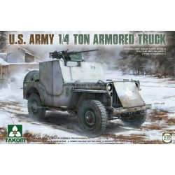 MAQUETTE TAKOM - U.S. Army 1/4 Ton Armored Truck - REF JAP TAK 2131 - ECH 1/35