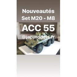 MAQUETTE JAPMODELS - CHARGEMENT M8 - M 20 - REF JAP ACC55 - 1/35