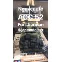 MAQUETTE JAPMODELS - CHARGEMENT FOR SHERMAN- REF JAP ACC52 - 1/35