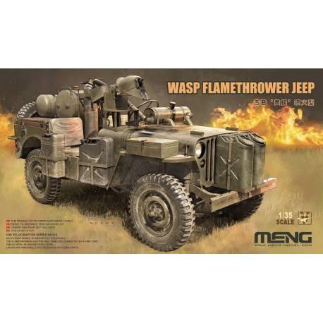 MAQUETTE MENG - WASP FLAMETHROWER JEEP - REF MENG WWP002 - ECH 1/35