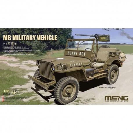 MAQUETTE MENG - MB MILITARY VEHICLE - REF MENGVS011 - ECH 1/35