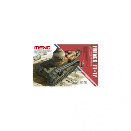 MAQUETTE MENG - FRENCH FT17 LIGHT TANK - REF MENG TS008 - ECH 1/35