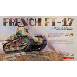 MENG - FRENCH FT17 LIGHT TANK (RIVETED - MENGTS011 * ECH 1/35 TURRET) -