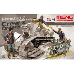 FIGURINE MENG -FT17 LIGHT TANK CREW ORDERLY - REF MENGHS005 - ECH 1/35