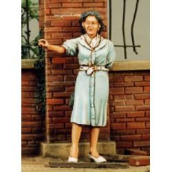 FIGURINES NEMROD -Femme civile N°3 - juin 1944 -REF N35053 - ECH 1/35