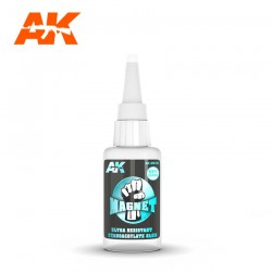 COLLE - AK - MAGNET ULTRA RESISTANT CYANOCRYLATE GLUE - REF AK 12015