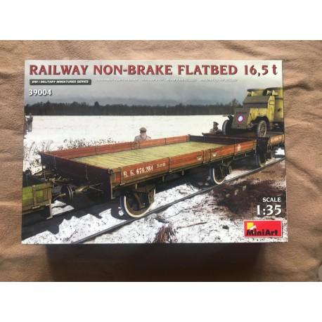 MAQUETTE MINIART - RAILWAY NON BRAKE - REF MINI 39004 - ECH 1/35