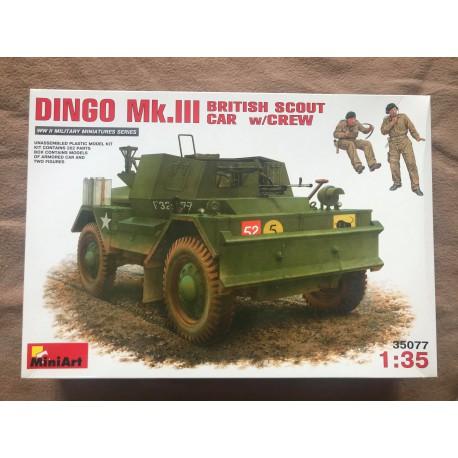 MAQUETTE MINIART - DAIMLER DINGO - REF MINI 3577 - ECH 1/35