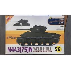 MAQUETTE DRAGON- M4A3 - 75 W - SUPER VALUE - REF : DRA 9156 - ECH 1/35