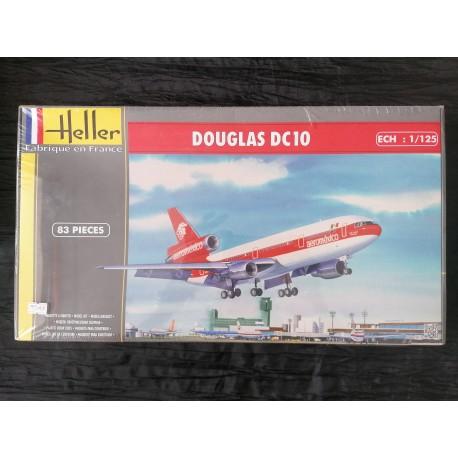 MAQUETTE HELLER - DOUGLAS DC 10 - REF HEL 80460 - ECH 1/125
