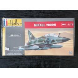 MAQUETTE HELLER - MIRAGE 2000 N - REF 80321 - ECH 1/72