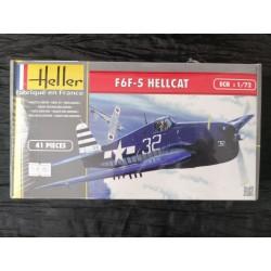 Maquette - HELLER - F6F-5 HELLCAT - Echelle 1/72