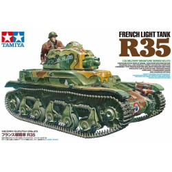 MAQUETTE TAMYIA - FRENCH LIGHT TANK R35 - REF 35373 - ECH 1/35