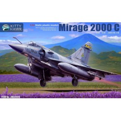 MAQUETTE KITTY HAWK - MIRAGE 2000 C REF 32020 - ECH 1/32