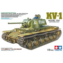 MAQUETTE TAMIYA - Russian Heavy Tank KV-1 Model 1941, Early Production - REF 35372