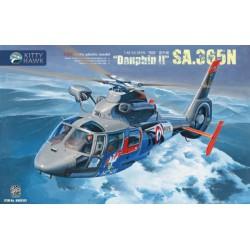 MAQUETTE Kittyhawk - SA.365N Dauphin II REF 80107