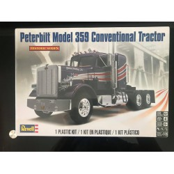 Maquette Revell - PETERBILT MODEL 359 - CONVENTIONAL TRACTOR - REF REV 85-1506 - ECH 1/25